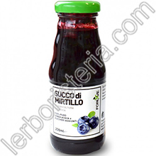 Succo di Mirtillo Puro Biologico