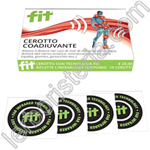 Fit Patch Universale Cerotto Coadiuvante senza Farmaco