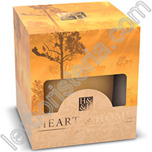 Heart & Home Candela Foresta Ambrata Small