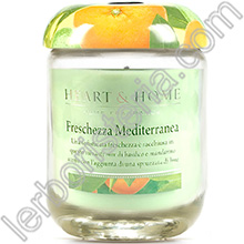 Heart & Home Candela Freschezza Mediterranea Medium