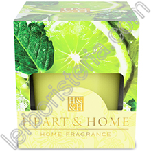 Heart & Home Candela Gocce di Lime Small