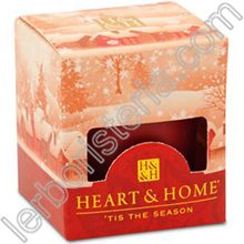 Heart & Home Candela Notte di Natale Small