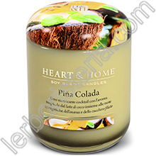Heart & Home Candela Piña Colada Medium
