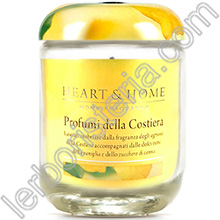 Heart & Home Candela Profumi della Costiera Medium