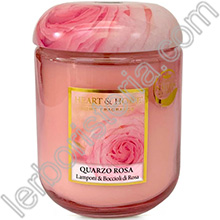 Heart & Home Candela Quarzo Rosa Big