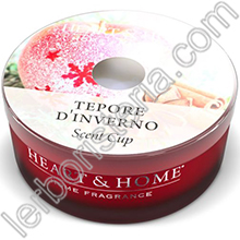 Heart & Home Candela Tepore d'Inverno Scent Cup
