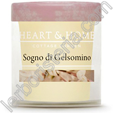 Heart & Home Candela Sogno di Gelsomino Small