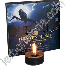 Heart & Home Candeline Tealights Twilight