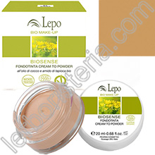 Biosense Fondotinta Cream to Powder - Tonalità 02 Nude