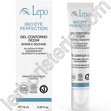 EcoBio Eye Perfection Gel Contorno Occhi Borse e Occhiaie