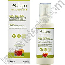 EcoBio Daily Defence Detox Latte Detergente Effetto Antipollution