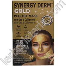 Synergy Derm Gold Peel Off Mask con Oro, Collagene e Acido Ialuronico