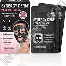 Synergy Derm Peel Off Mask al Carbone Vegetale