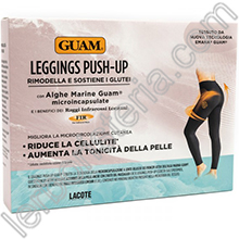 Leggings Push-Up con Alghe Guam e FIR Taglia XS/S 38-40