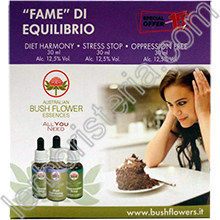 Australian Bush Flower Essences Box Fame di Equilibrio