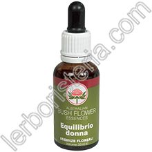 Australian Bush Flower Essences Equilibrio Donna