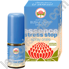 Australian Bush Flower Essences Stress Stop Spray Orale Mini