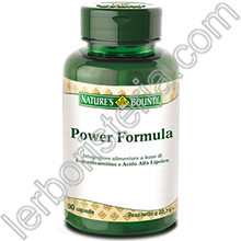 Power Formula - Acetil-Carnitina e Acido Alfa-Lipoico