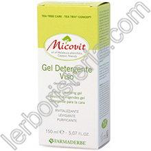 Micovit Gel Detergente Viso con Tea Tree Oil