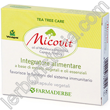 Micovit Integratore con Tea Tree Oil