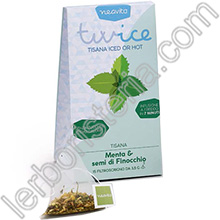 Twice Tisana Iced or Hot Menta e semi di Finocchio Filtroscrigno