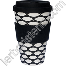Ecoffee Cup Ecotazza Bambù Biodegradabile Basketcase