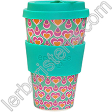 Ecoffee Cup Ecotazza Bambù Biodegradabile Itchykoo
