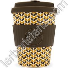 Ecoffee Cup Ecotazza Bambù Biodegradabile Threadneedle