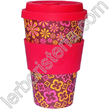 Ecoffee Cup Ecotazza Bambù Biodegradabile Yeah Baby