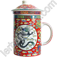 Tisaniera Old China Loto e Drago